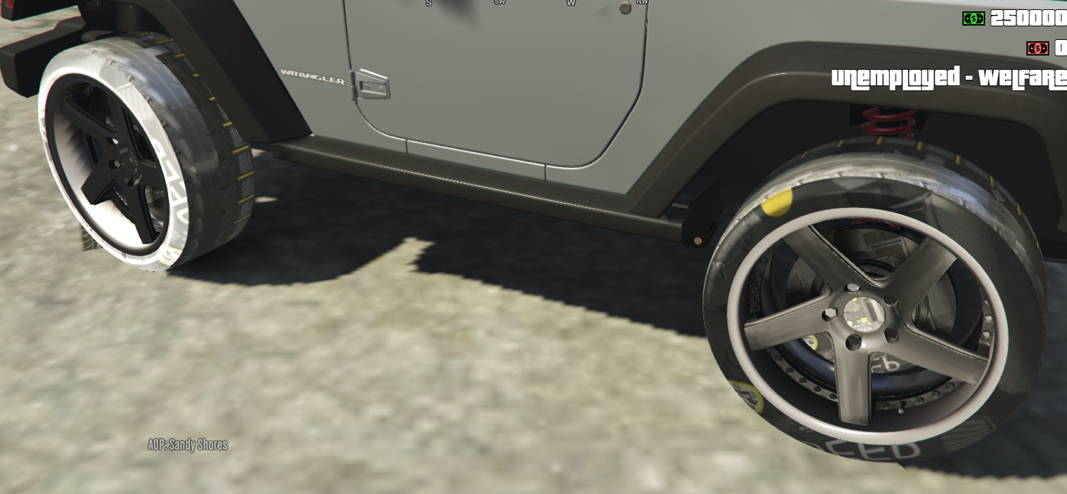 Missing Textures on wheels/cannot stream vehshare ytd