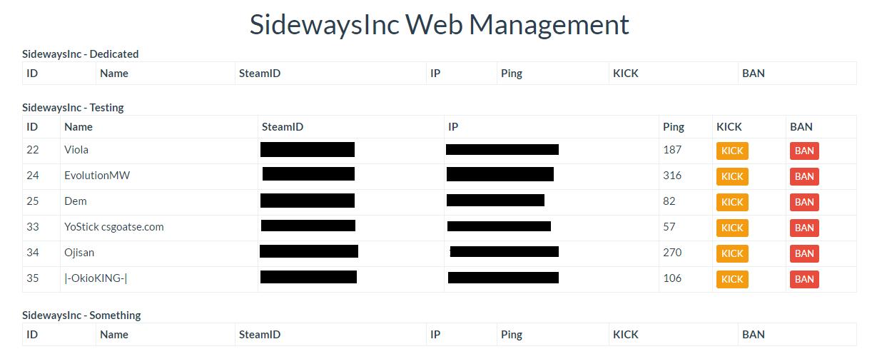 Release] Webmanager | DISCONTINUED - CHECK V2 - Releases - FiveM