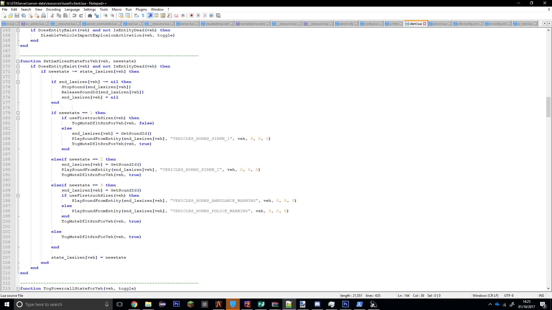 CLOSED][LUA] Developer looking for jobs - Server Bazaar - FiveM