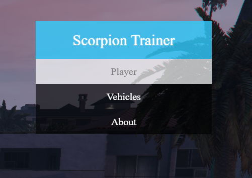 Old] Scorpion Trainer - Discussion - FiveM
