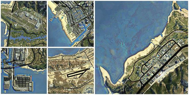 Release DLK GTAV Pause Menu HD Map Mods WStreet Names - Hd satellite map