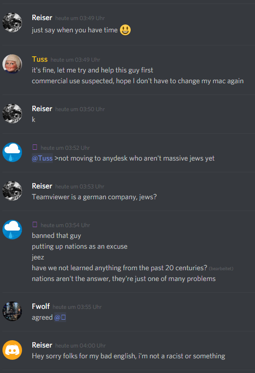 Discord] Asking for Unban - Technical Support - FiveM