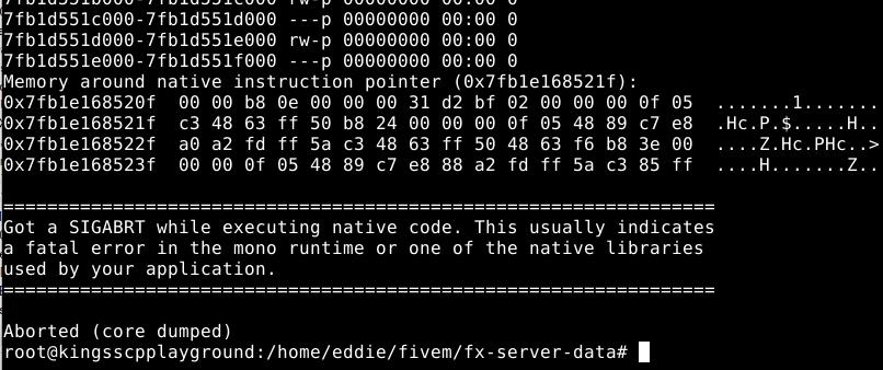 Linux ubuntu 18 04 - Technical Support - FiveM