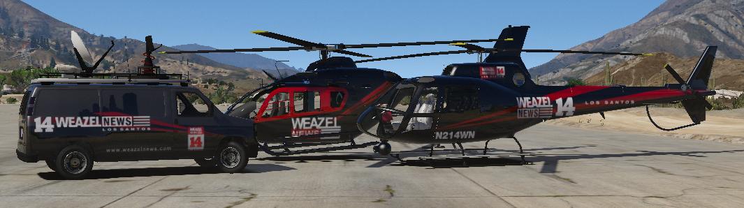 Release]Weazel News pack / News vehicles pack [2 2] - Releases - FiveM