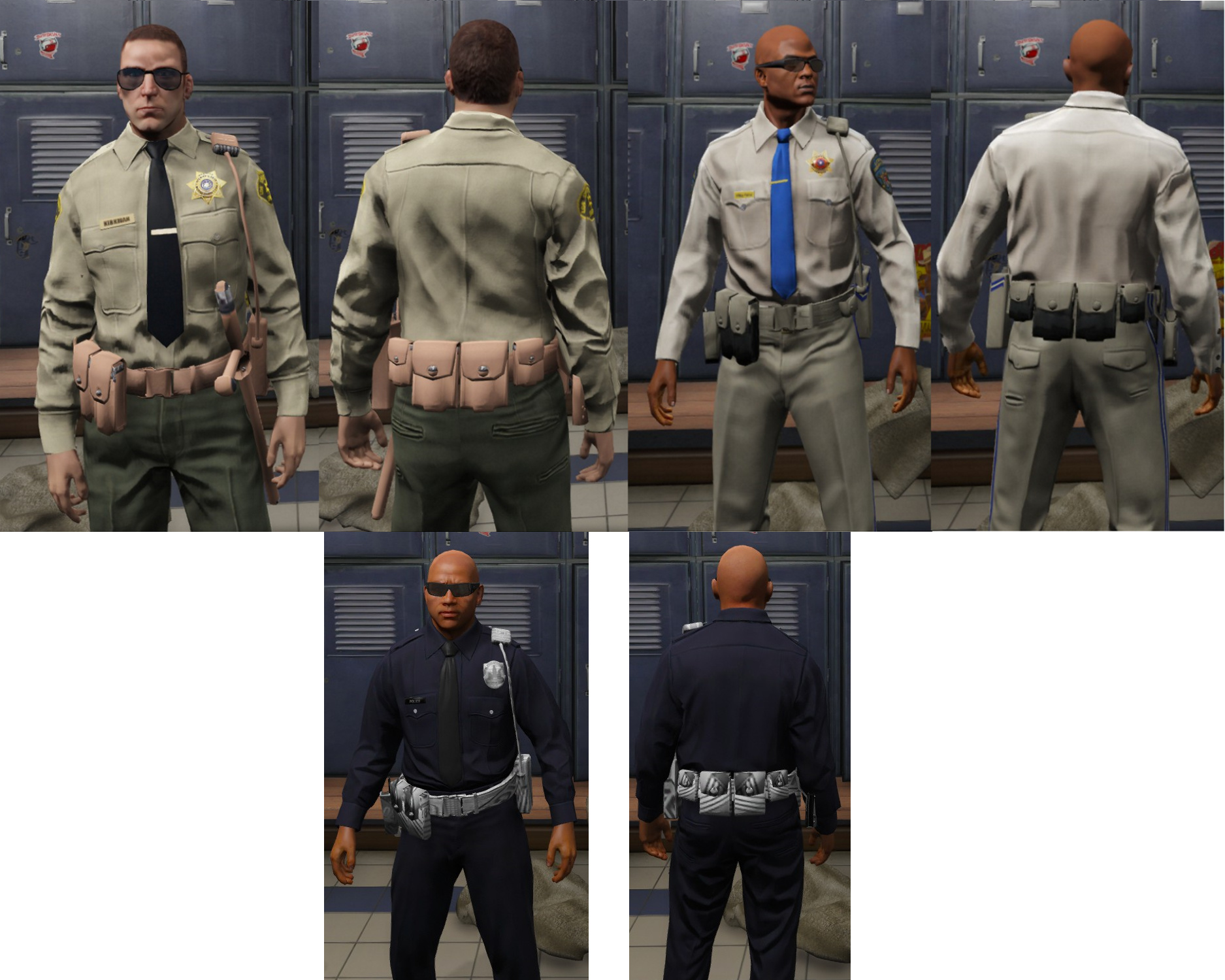 Police Belt texture glitch - Discussion - FiveM