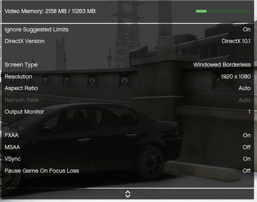 Constant Low FPS on High End PC-Normal GTA Online 150+ on