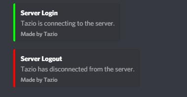Release] Server log (Discord Webhook) - Releases - FiveM