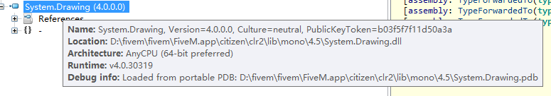 ISSUE][C#]System Drawing mismatch in fivem client lib - Bug