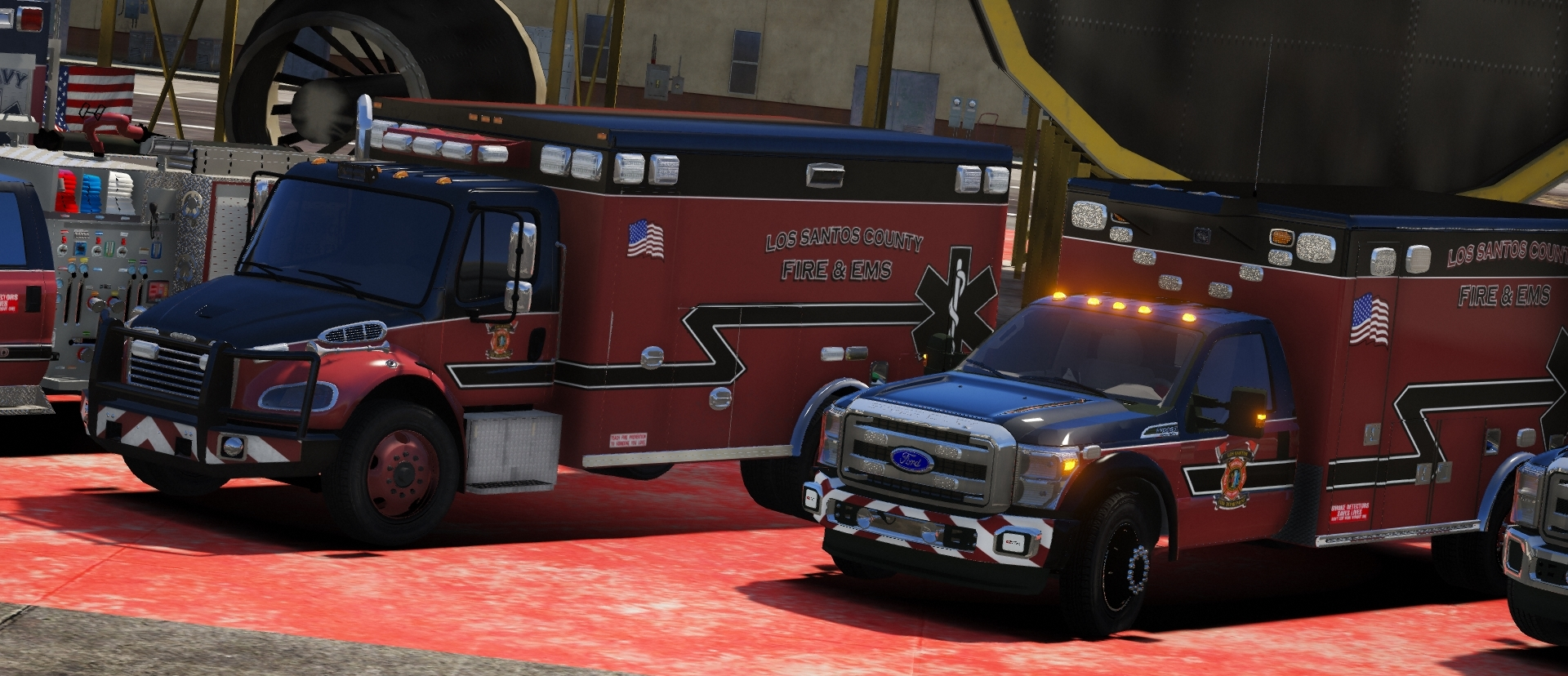 Los Santos Department of Public Safety | Police | Fire/EMS