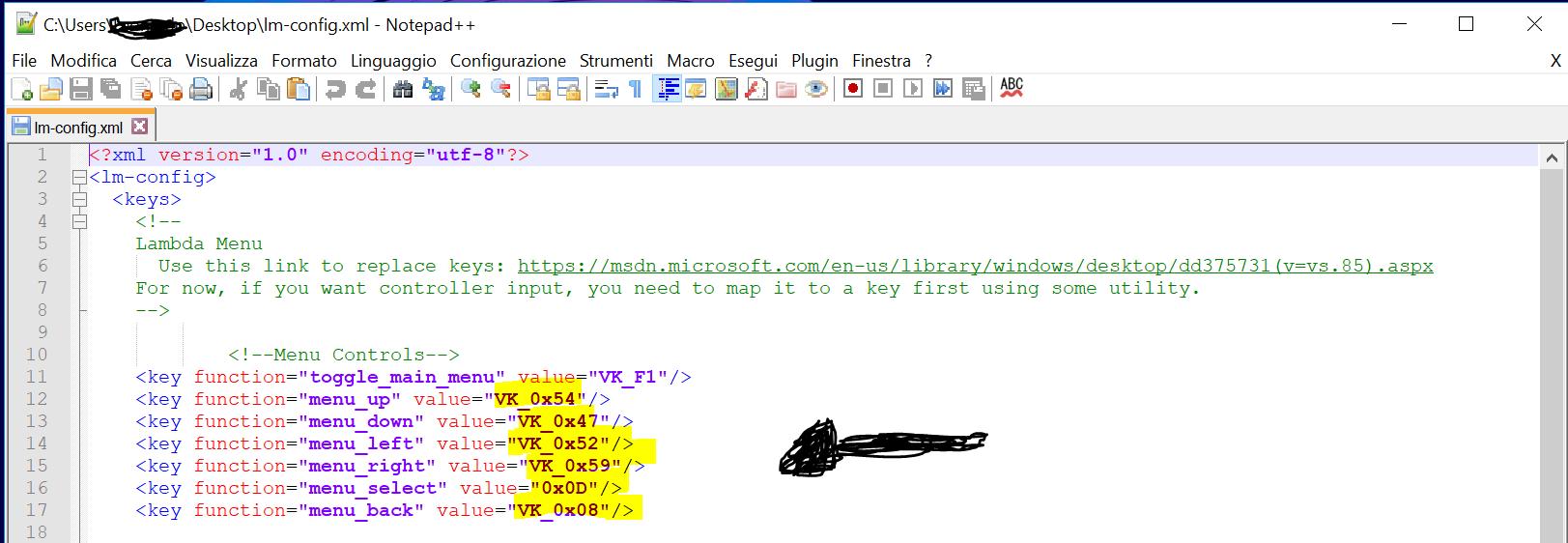 Config Font Vk