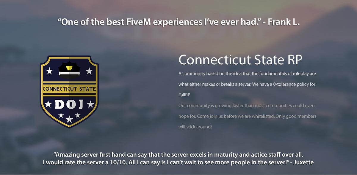 Fivem whitelist servers | Server Rules  2019-03-05