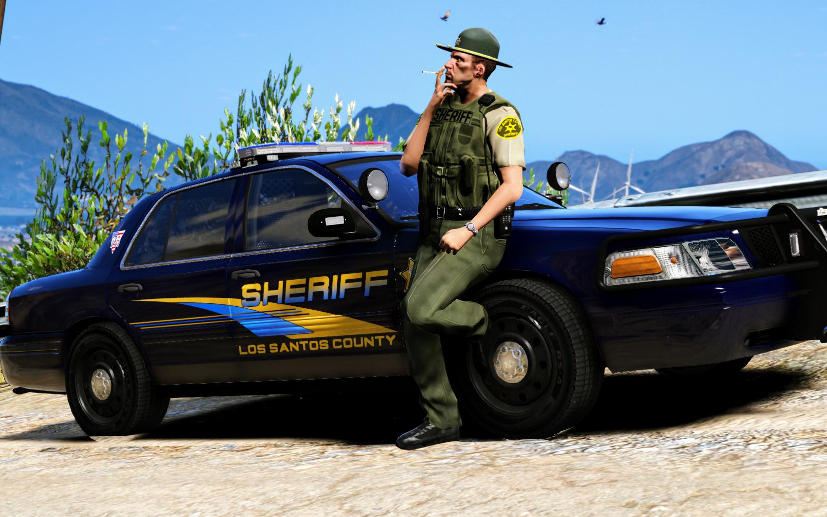 doj styled captain14 police cars releases fivem