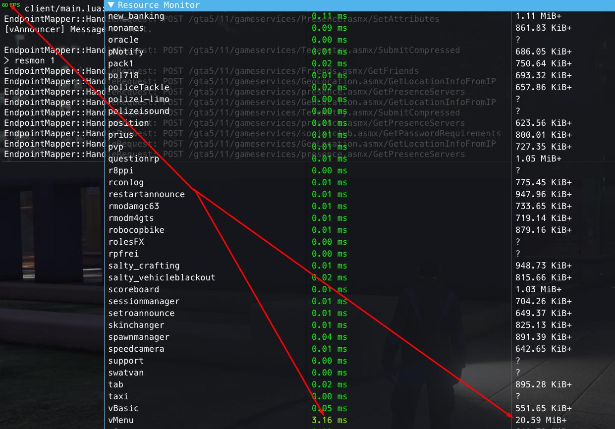 vMenu v3 0 3 - A server-sided menu including (almost) full