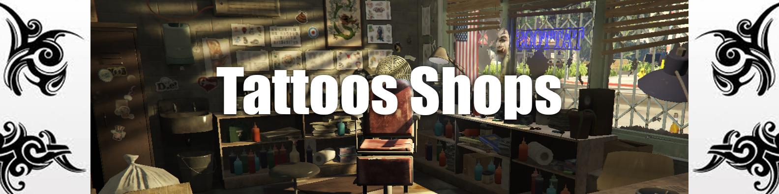 Release] [ESX] Tattoos Shops - Releases - FiveM
