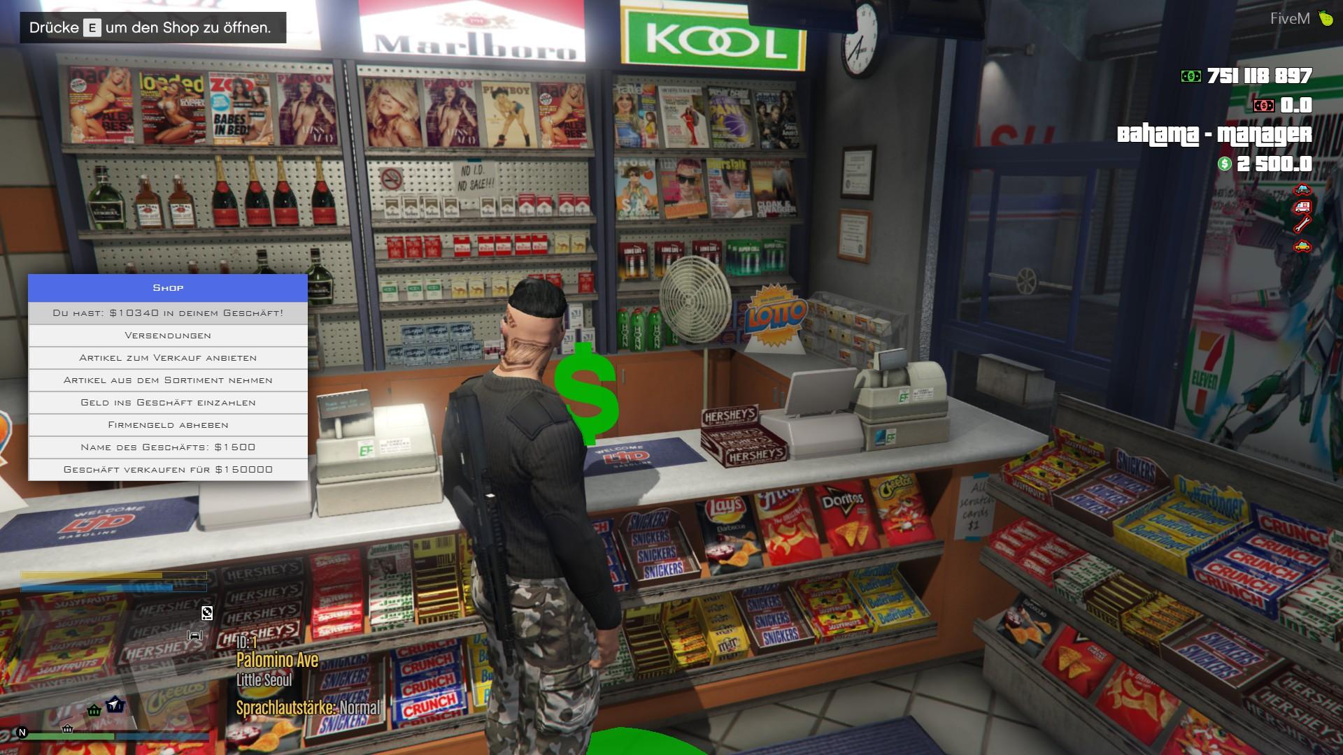 Store Robbery Script Fivem