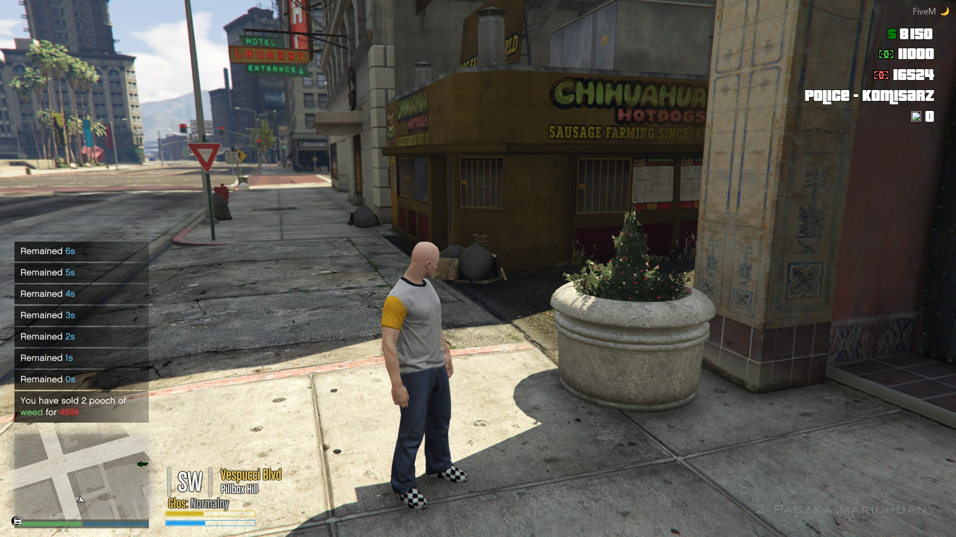 ESX stasiek_selldrugs] Sell Drugs to NPC +dispatch NEW
