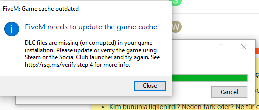 Validating steam cache files slow