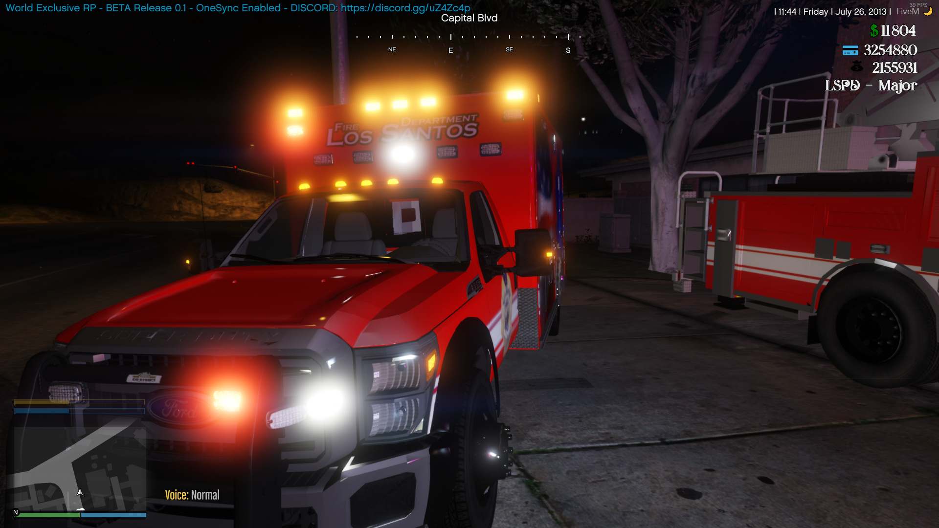 World Exclusive RP -> Where FiveM meets LSPDFR | Normal & OneSync