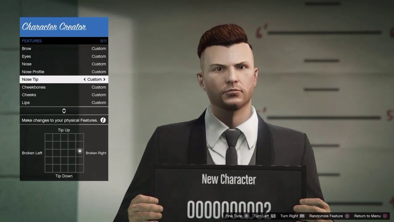 Face Customization Like Gta Online - Discussion - FiveM