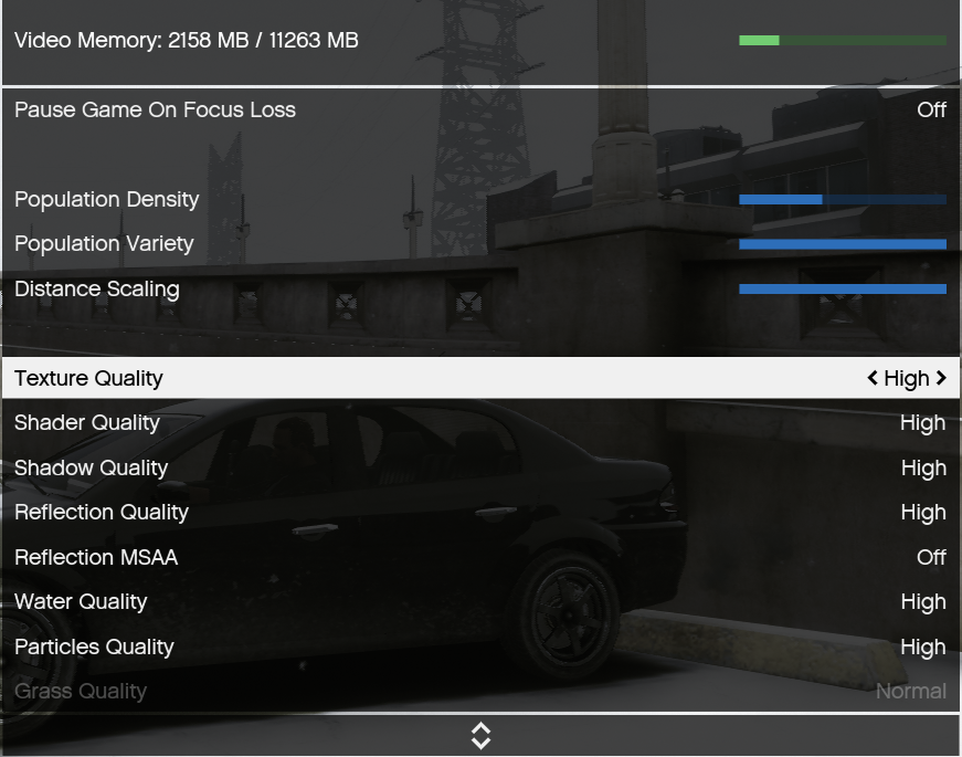 Constant Low FPS on High End PC-Normal GTA Online 150+ on Ultra