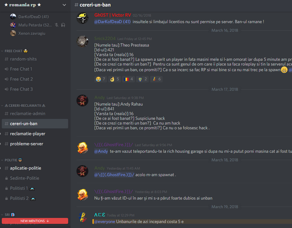 Is it normal to ask for money to unban people from your server