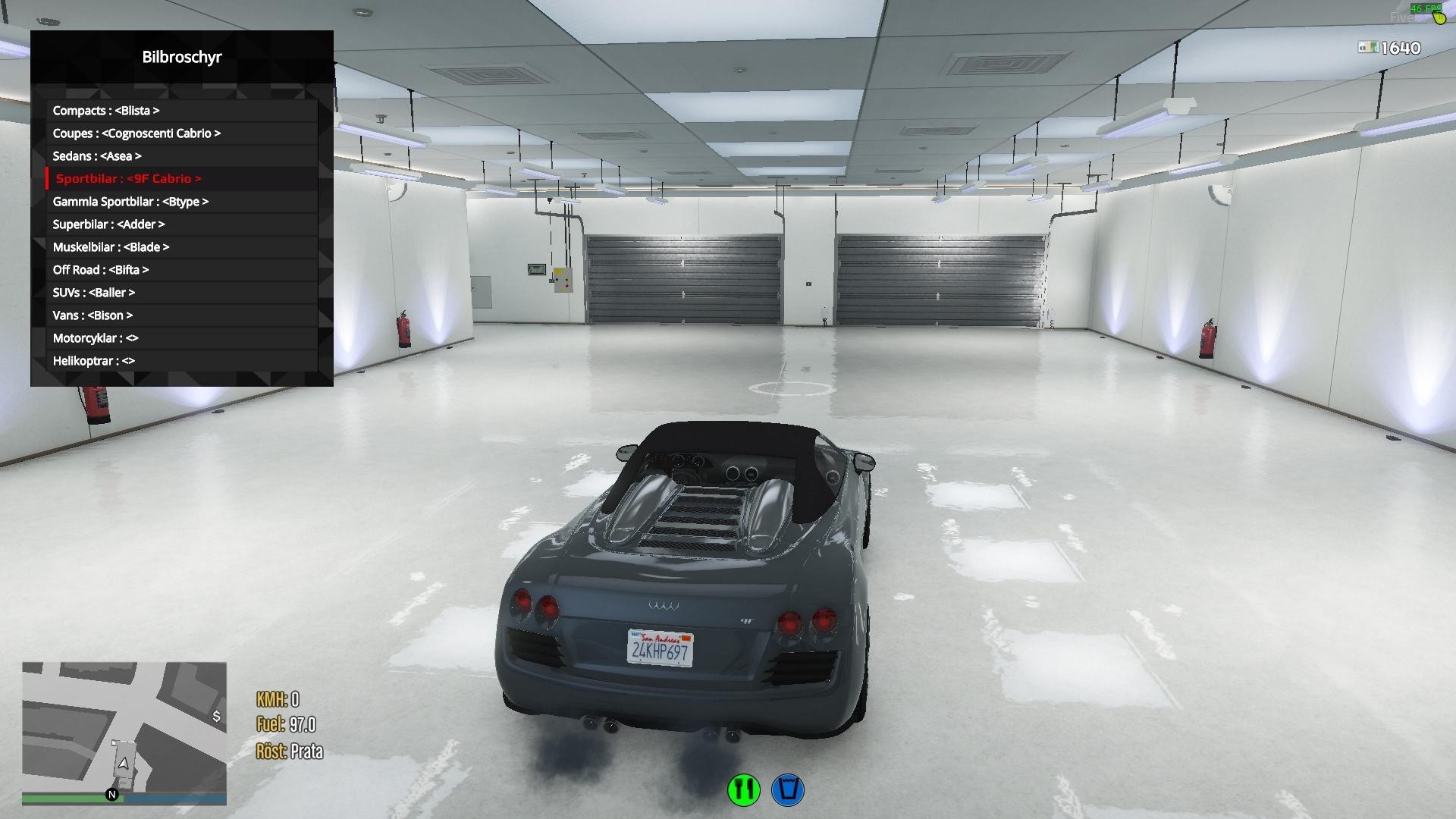 Vehicle shop fivem