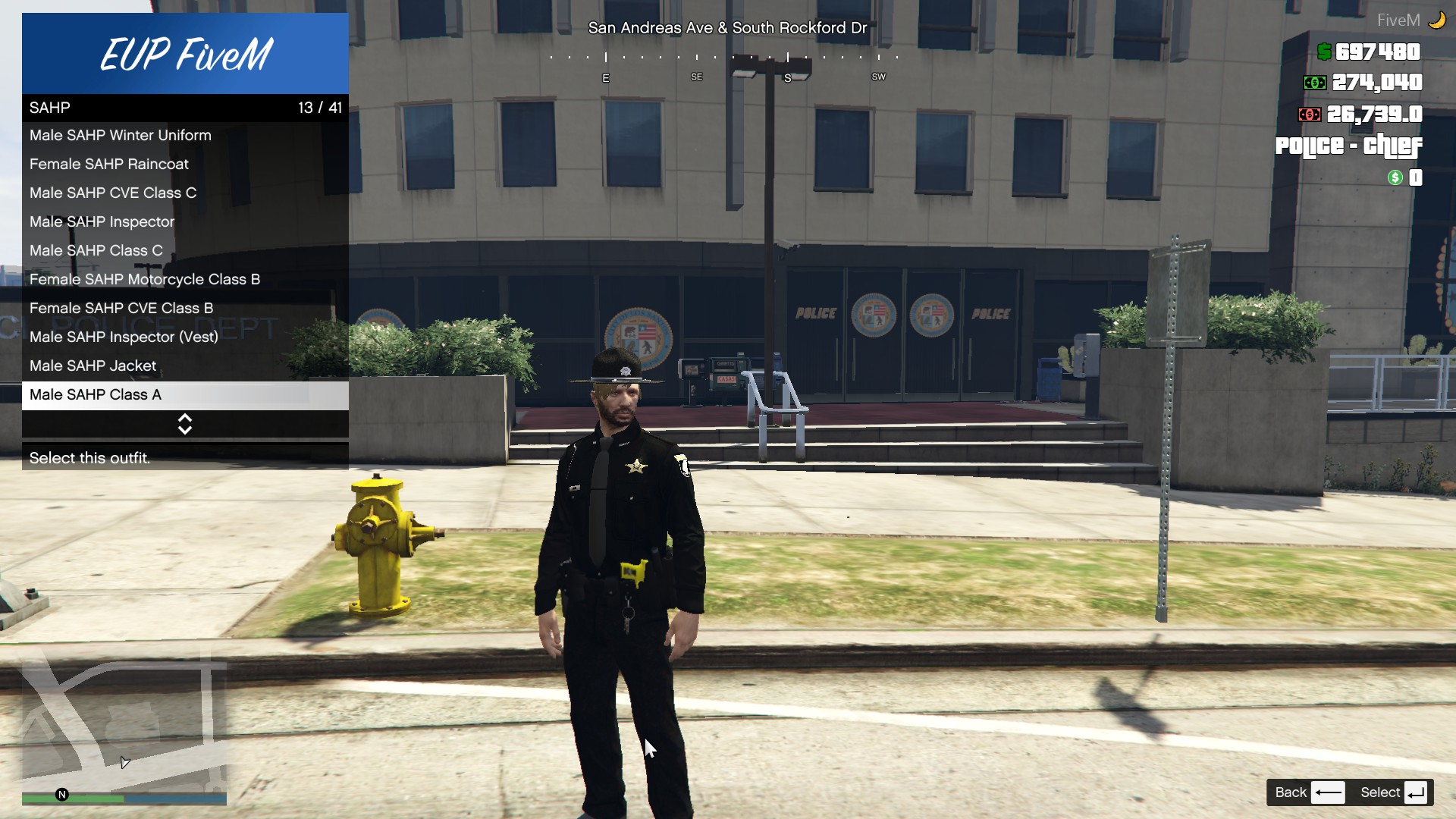 Black San Andreas State Police EUP Uniforms (Idaho Based) 1 0 0
